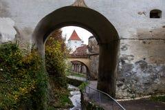Vieux murs Brasov image stock