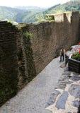 Vieux murs de ville Photographie stock libre de droits