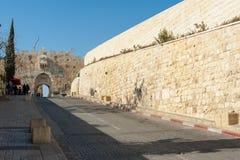 Vieux murs de ville Image stock