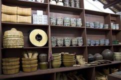 Vieux musée chinois Hong Kong d'héritage de maison photo stock