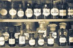 Vieux musée de pharmacie Photo stock