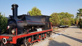 Vieux musée de train photographie stock libre de droits