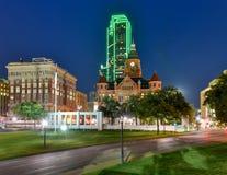 Vieux musée rouge - Dallas, le Texas photo libre de droits