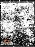 Vieux négatif en verre battu de grand format, cadre de photo, vide, WI illustration de vecteur