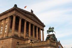 Vieux National Gallery, Berlin images libres de droits