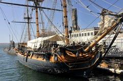 Vieux navire à San Diego Photographie stock libre de droits