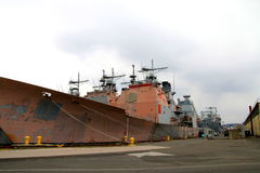 Vieux navire image stock
