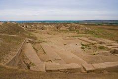 Vieux Nisa, Turkmenistan Image libre de droits