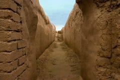 Vieux Nisa, Turkmenistan Photographie stock libre de droits