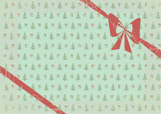 Vieux Noël de carte Image libre de droits