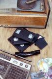 Vieux objets de 70-90 ans Image stock