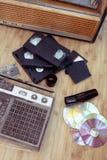 Vieux objets de 70-90 ans Photos libres de droits