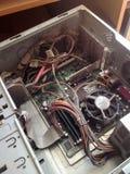 Vieux ordinateurs dans l'usine Image stock