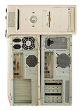 Vieux ordinateurs pour la réutilisation électronique Photos libres de droits