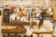 Vieux outils Photographie stock libre de droits