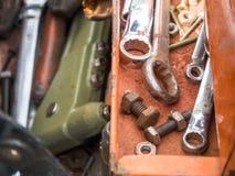 Vieux outils de travail Photo libre de droits