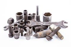 Vieux outils rouillés Image libre de droits
