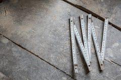 Vieux outils sur la table, copyspace Photos libres de droits