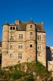 Vieux palais d'Espalion Image libre de droits