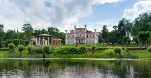 Vieux palais dans le voyage de la Lettonie Photographie stock libre de droits