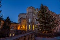 Vieux palais de justice Images libres de droits