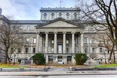 Vieux palais de justice - Montréal, Canada photos stock