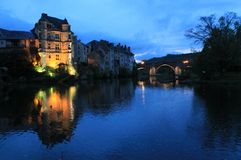 Vieux Palais, Espalion, Aveyron ( France ) Royalty Free Stock Images