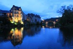 Vieux Palais, Espalion, l'Aveyron (Frances) Images stock
