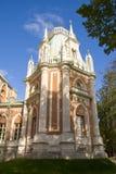 Vieux palais russe dans Tsaritsyno Image stock
