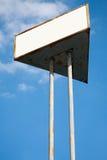 Vieux panneau d'affichage vide pour la publicité Photo libre de droits