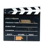 Vieux panneau de clapet de production Images libres de droits
