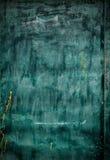Vieux panneau de vert de dessin, grunge Image stock