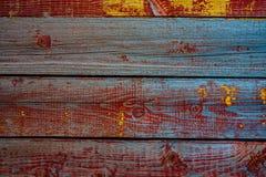 Vieux panneau en bois peint images libres de droits