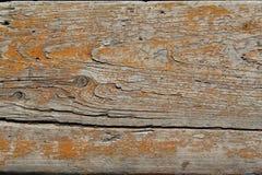 Vieux panneau en bois peint Photos libres de droits