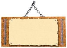 Vieux panneau indicateur Illustration Libre de Droits