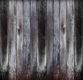 Vieux panneaux en bois grunges Photographie stock libre de droits