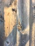 Vieux panneaux en bois texturisés Photo libre de droits