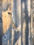 Vieux panneaux en bois texturisés Image libre de droits