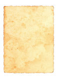 Vieux papier Photographie stock