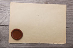 Vieux papier Photo stock