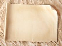 Vieux papier Image libre de droits