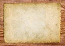 Vieux papier Photographie stock libre de droits