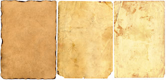 Vieux papier Photos libres de droits