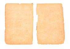 Vieux papier blanc photographie stock
