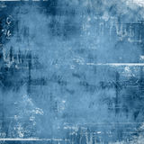 Vieux papier bleu Photographie stock libre de droits
