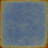 Vieux papier bleu Images libres de droits