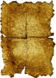 Vieux papier brûlé Images stock