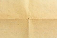 Vieux papier brun Images stock