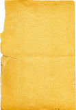 vieux papier déchiré Image stock