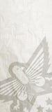 Vieux papier d'aigle Image stock